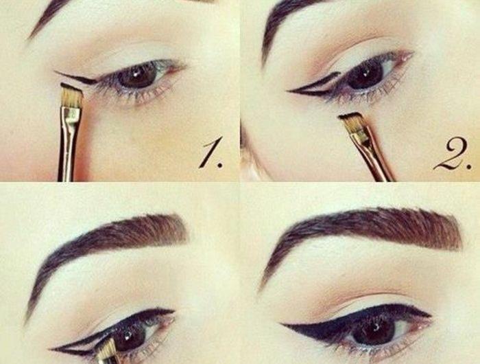 Bien-aimé Les 25 meilleures idées de la catégorie Maquillage yeux amande  LV21