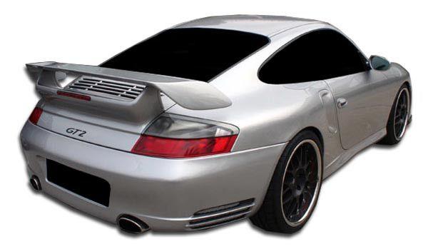 2002-2004 Porsche 996 Turbo C4S Duraflex GT-2 Look Rear Bumper Cover - 1 Piece