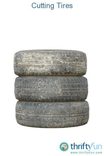 This is a guide about cutting tires. Whether you are trying to dispose of your old tires or using them in a project, you may be looking for a way to easily cut them to suit your purpose.