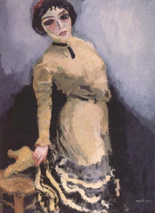 Yellow Boots, by Kees van Dongen