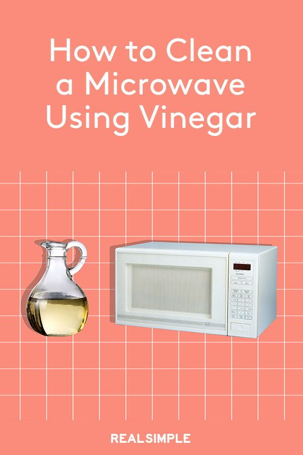 How To Clean A Microwave Using Vinegar Cleaning Hacks Cleaning