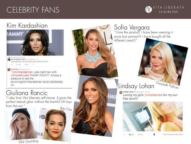 Tajným trikem pro přirozené opálení Kim Kardashian, Gwyneth Paltrow, Sofie Vergara a dalších významných žen jsou luxusní samoopalovací produkty VITA LIBERATA. #vitaliberata #profiskin #expertnakrasu