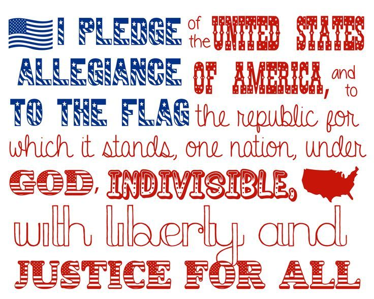 """I'm glad God was added....did you know... ~Amy  The original pledge of allegiance did not contain the words """"under god"""" even though it was written by an ordained minister....."""