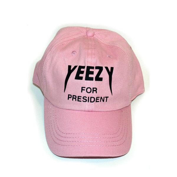 Pink Yeezy Baseball Cap ($30) ❤ liked on Polyvore featuring accessories, hats, adidas originals hat, baseball cap, pink baseball cap, ball caps and baseball hats