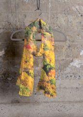 Cashmere Silk Scarf - Planetary Cashmere Silk 1 by VIDA VIDA fB786MY6T3