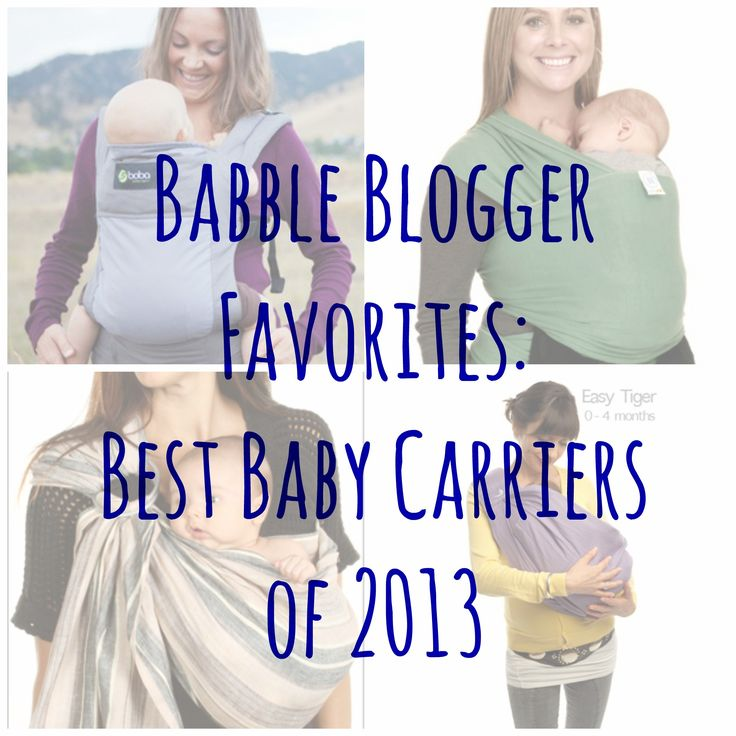 The Best Baby Carriers Of 2013 Ten Tiny Fingers Amp Toes