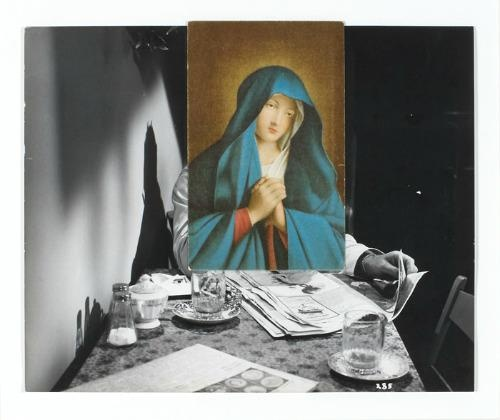 John Stezaker, The Visitation, 2006
