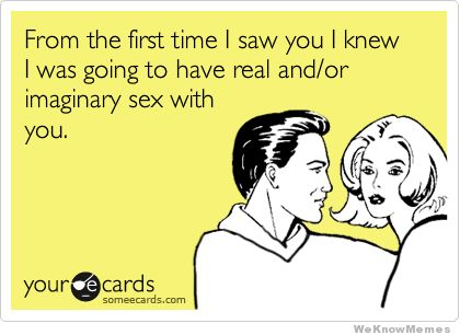 @Melissa Adame - ever had this thought? :)