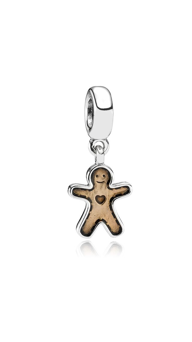 Occasion - Charms - Gingerbread Man