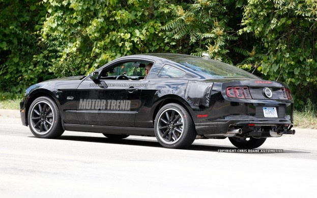 Spied: 2015 Ford Mustang Test Mule Disguised as 2013 Mustang GT