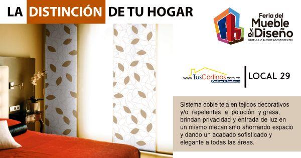 #Elegancia y privacidad para cada espacio de tu #hogar