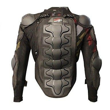 pro-motards+armure+de+protection+moto+armure+épaississement+accrue+motocross+course+complet+du+corps+gilets+de+vitesse+de+protection+noir+–+EUR+€+29.10