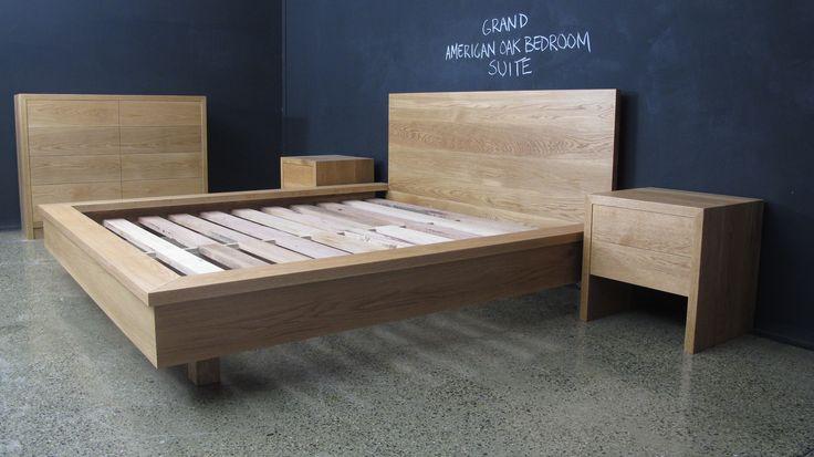 Grand American Oak Bedroom Suite