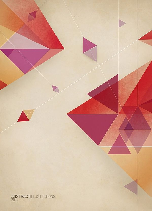 Geometric Shapes Composition Design Graphic Design