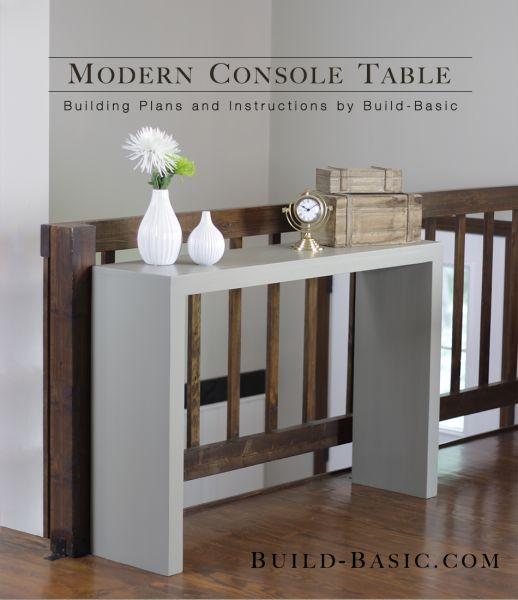Comment fabriquer une table console?   BricoBistro