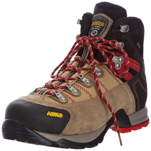 ASOLO Men's Fugitive GTX Hiking Boots, Wool/Black 8
