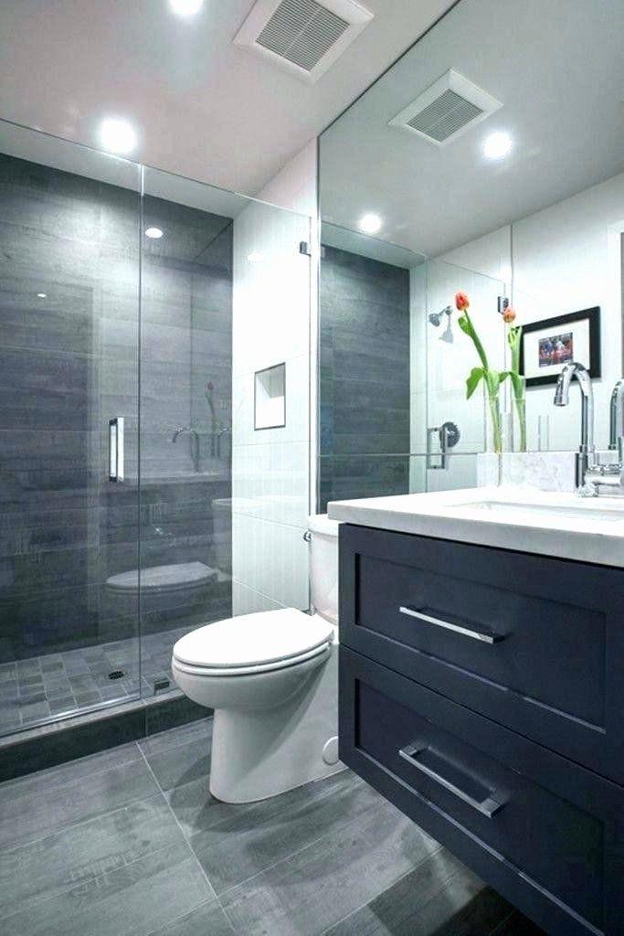 Gray And White Small Bathroom Unique Dark Gray Tile Bathroom Ideas Image Of Bathroom And Closet In 2020 Grey Bathrooms Gray And White Bathroom Grey Bathroom Tiles
