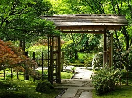 117 Best Images About Japanese Gates & Fences On Pinterest | Asian