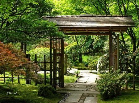 622 best images about japanese gardens on pinterest for Japanese garden gate