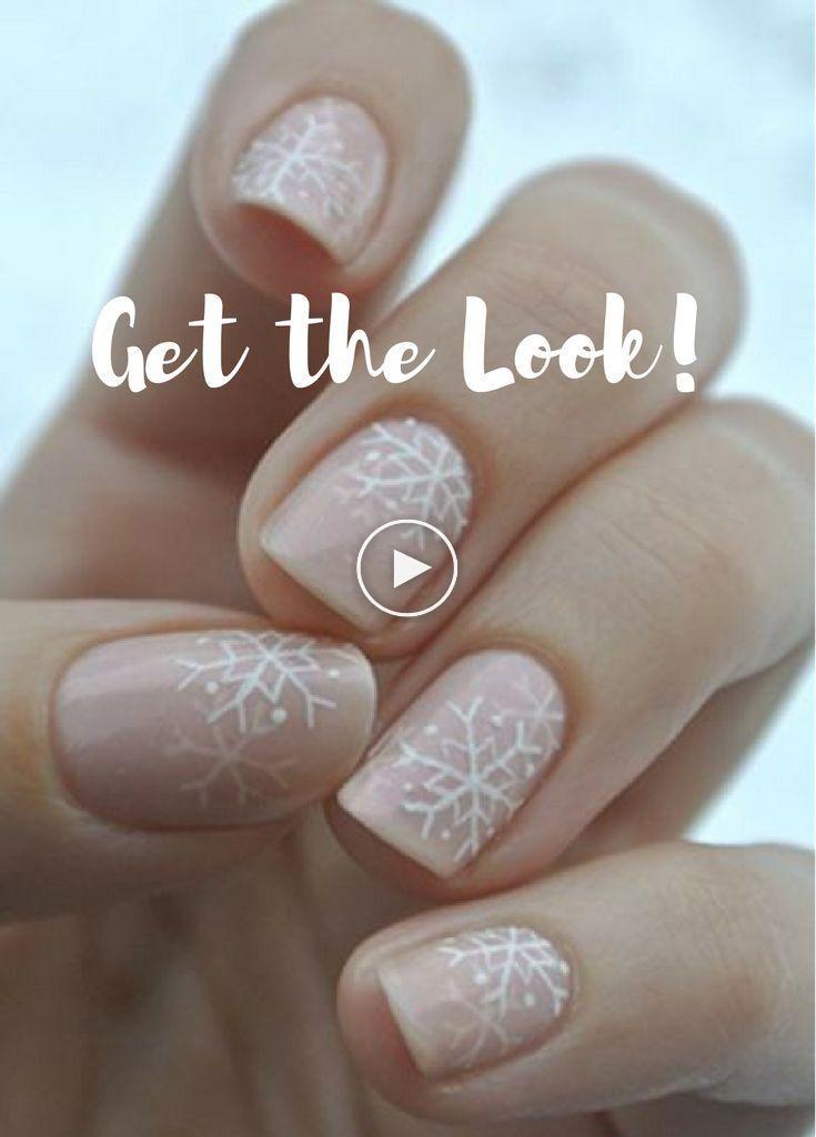 Saisonale Nägel, Schneeflockendesigns #ad, Make-up-Tutorial, Ideen, Tipps, Herbst, Produkt …