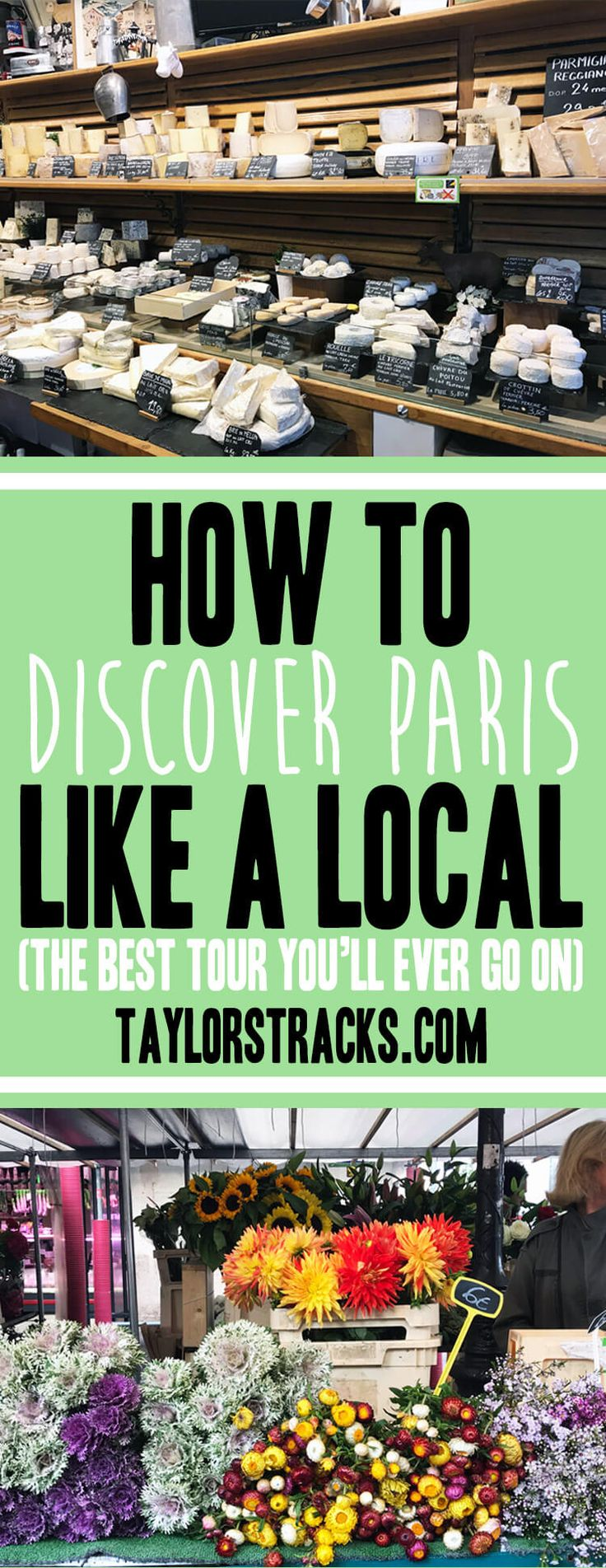 Heading to Paris? Learn how to get off the beaten path and see the city of lights through a locals eyes. #paris #europe ****************************************Paris France | France travel | Europe travel | Europe destinations | Paris tour | Paris tour guide | Paris food | Paris food market