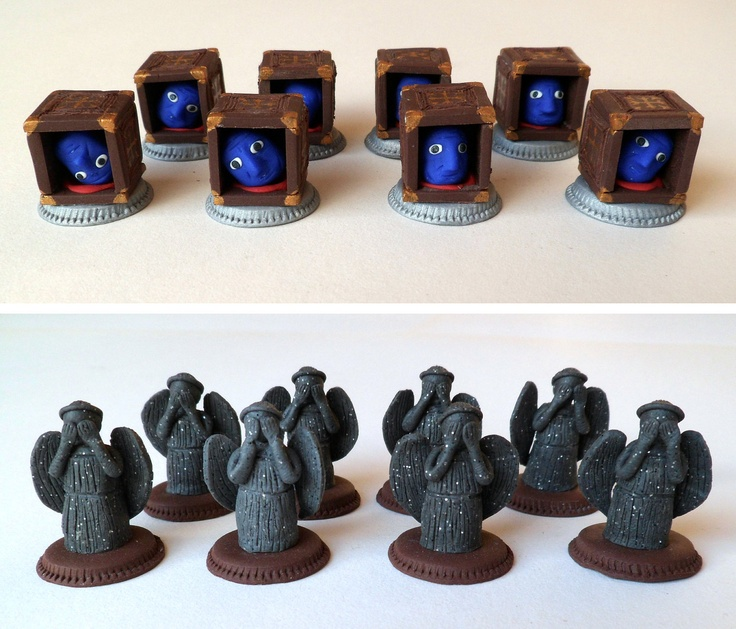Handmade Doctor Who Chess Set Has All Your Favorite Characters