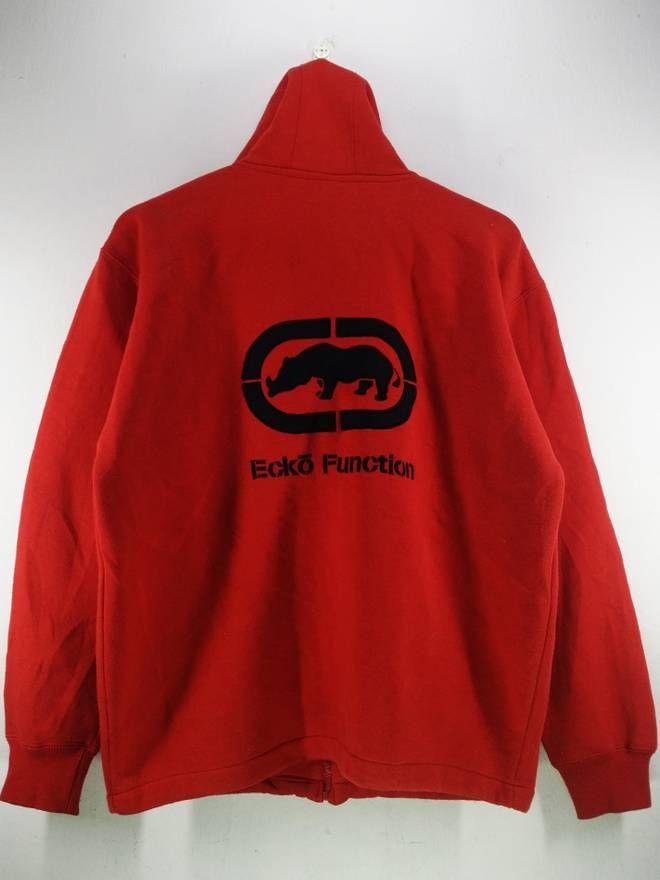 c2e6bd030d Ecko Unltd. Vintage 90 s Ecko Function Big Logo Spell Out Embroidery  Hoodies Sweatshirt Zipper Jacket Size Large Size US L   EU 52-54   3