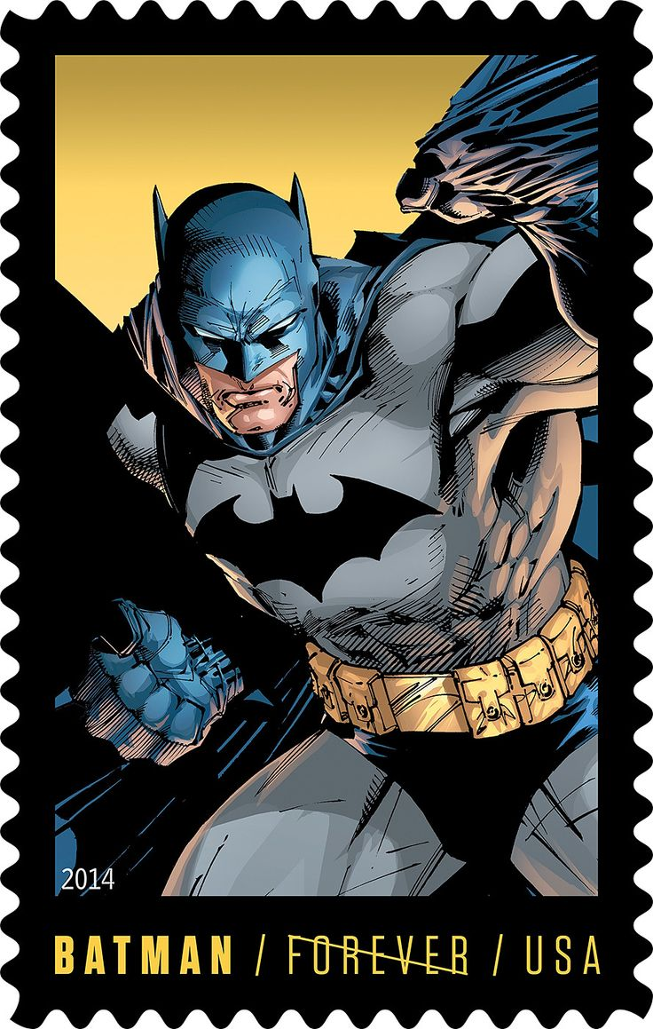 The U.S. Postal Service commemorates Batman's 75th Anniversary