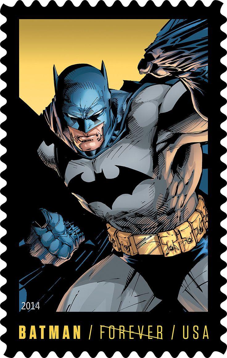 The U.S. Postal Service commemorates Batman's 75th Anniversary