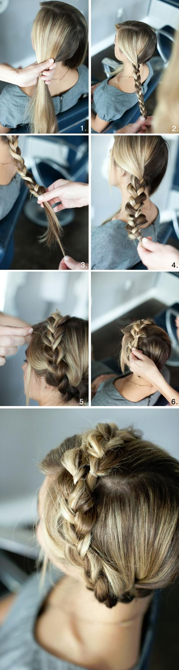 Braided Crown Tutorial...yeah only if my hair was longer than what it is and if i didnt have the layers in my hair!! darn it! :(