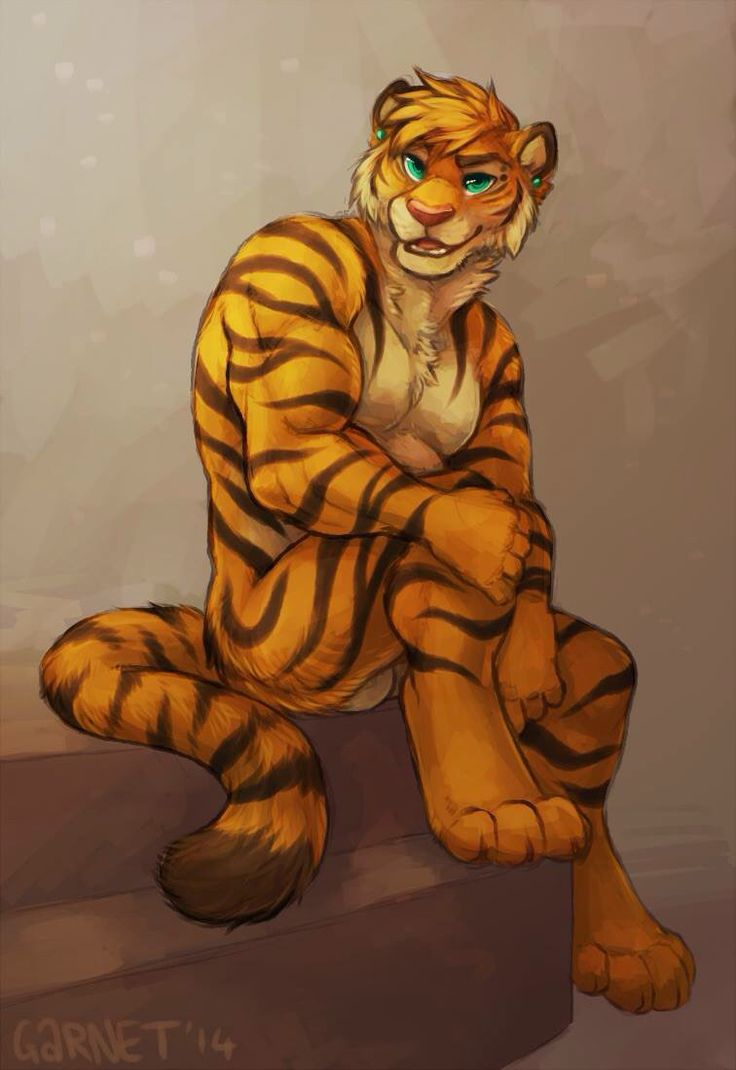 gay tiger furry art jpg 422x640