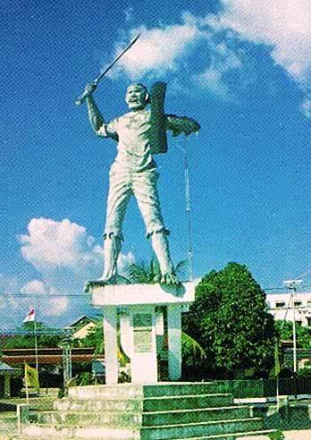 Thomas Matulessy,  Pattimura Muda,  Ambon.