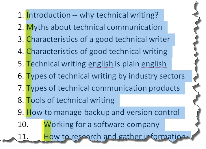 ASSIGNMENT – Instructions Project for Technical Communication Students