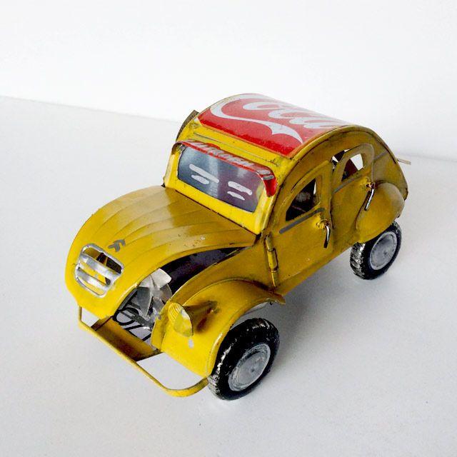 fumogalleryUpcycled creator! Miniature Mamy - Antsirabe (Madagascar) #fumogallery #artisan #artgallery #photo #creator #madagasgar #design #upcycled #amazing #industrial #recycled #art #artist #citroen #2cv #artonline #emergingartist #artonsale #artcollector #cocacola #car #uniquepiece #gallery #cool #junk #refuse