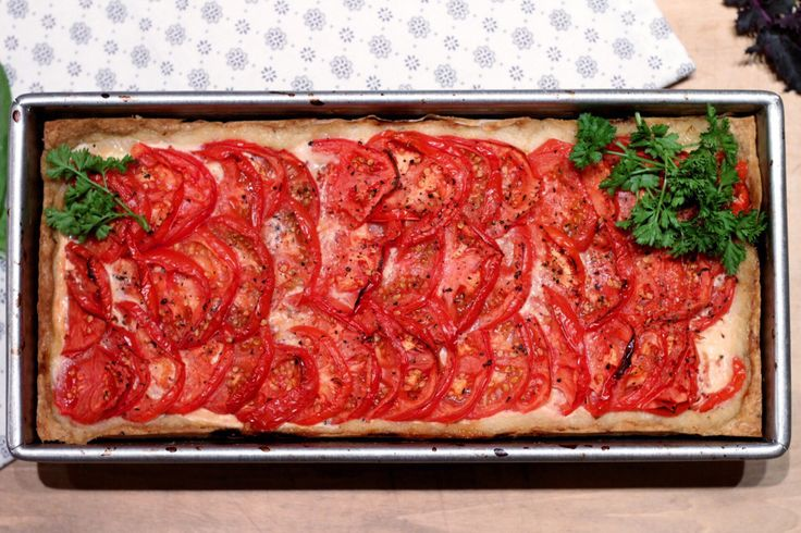 Gluten free Tomato Pie – with Pumpkin Seed Pastry. – A Couple of celiacs