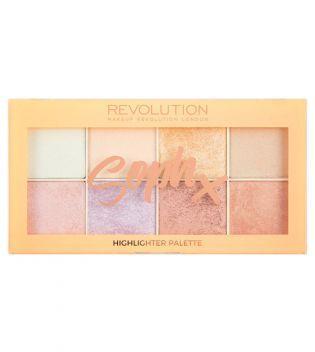 Makeup Revolution - Paleta de Iluminadores - Soph X