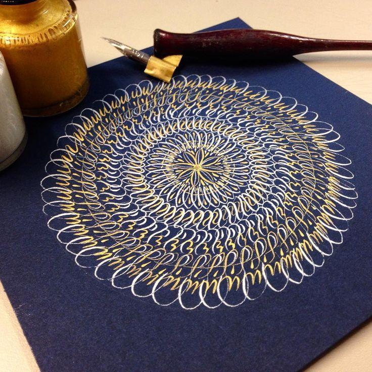 Calligraphy by Daniel Lara Pozos   https://instagram.com/chibiboto/  #calligraphy #caligrafía #inkletters #letters #handmadeletters #ink