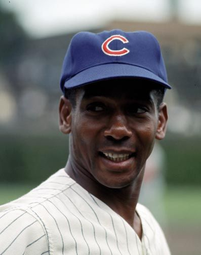 """Ernest """"Ernie"""" Banks (born January 31, 1931) Dallas, TX.  Signed by the Chicago Cubs in 1953. An 11-time All-Star, Banks was named the National League's (NL) Most Valuable Player for two consecutive seasons. He hit more than 40 home runs in five different seasons. He also led the league in 1958–1959 in runs batted in. He retired in 1971 and was elected into the National Baseball Hall of Fame in 1977."""
