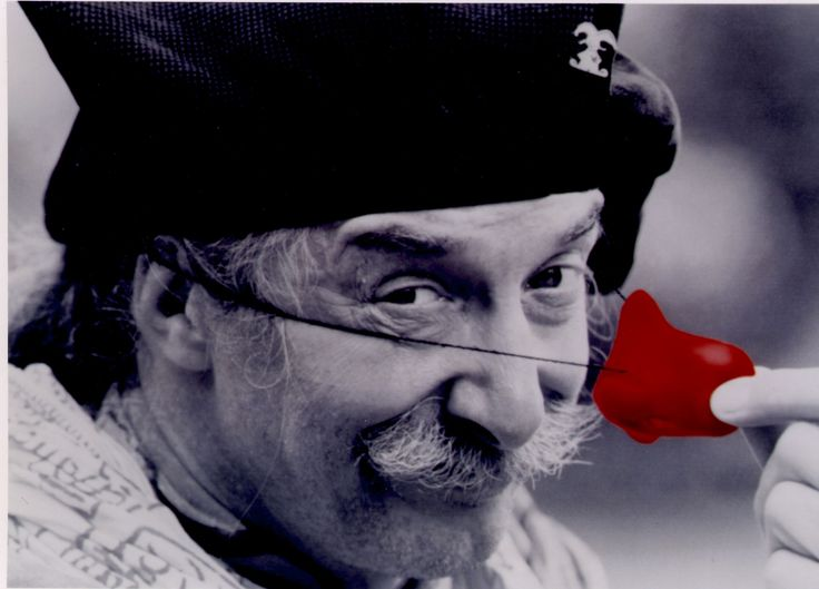 "Hunter ""Patch"" Adams -- If you don't know who he is, look him up... or watch the movie. :)"