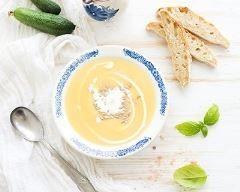 Velouté de topinambours au curry et au fromage frais Ingrédients