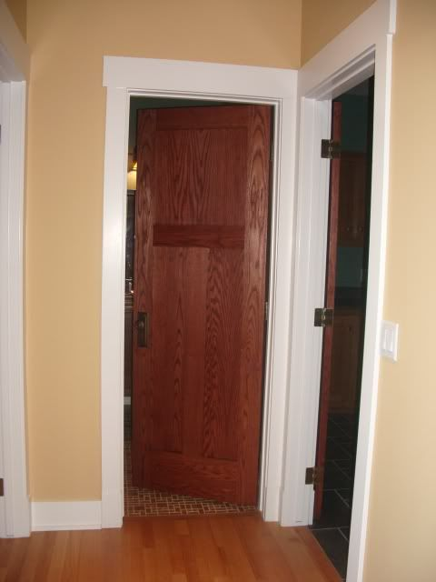 17 best images about trim and doors on pinterest window for Combining stained and painted trim