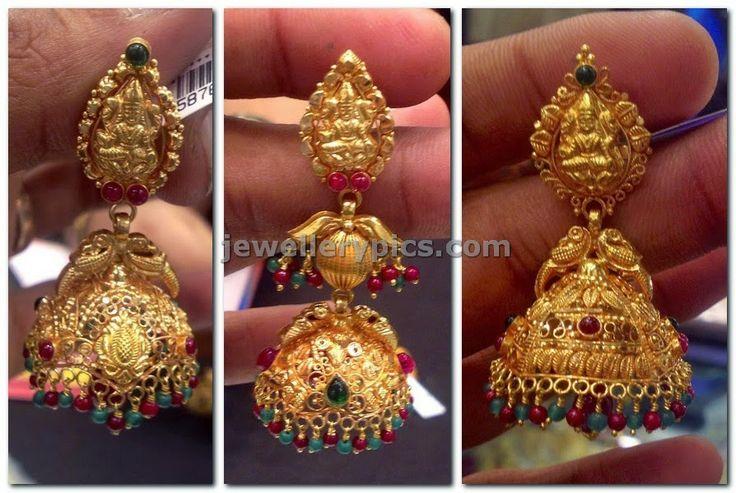 gold jumka design collection