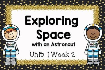 astronaut printables for 2nd grade - 350×235