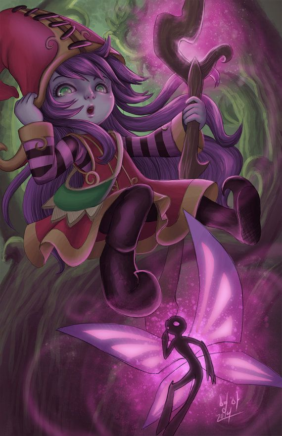 League of Legends Lulu by TheMogShop on Etsy