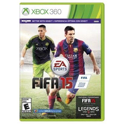 FIFA 15 (Xbox 360) - on sale and free shipping...score!! I mean, goooooooooollllll!!!! Golaso!! Lol!