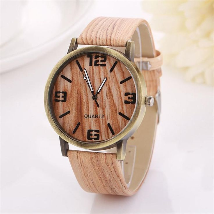 Superior New Wood Grain Watches Fashion Quartz Watch Wristwatch Gift for Women Men June 24  #beautiful #fashion #outfit #makeup #stylish #jewelry #styles #beauty #cute #model #jennifiers #style #outfitoftheday #purse #hair