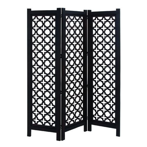 "Found it at Wayfair - 72"" x 60"" 3 Panel Wooden Room Divider"