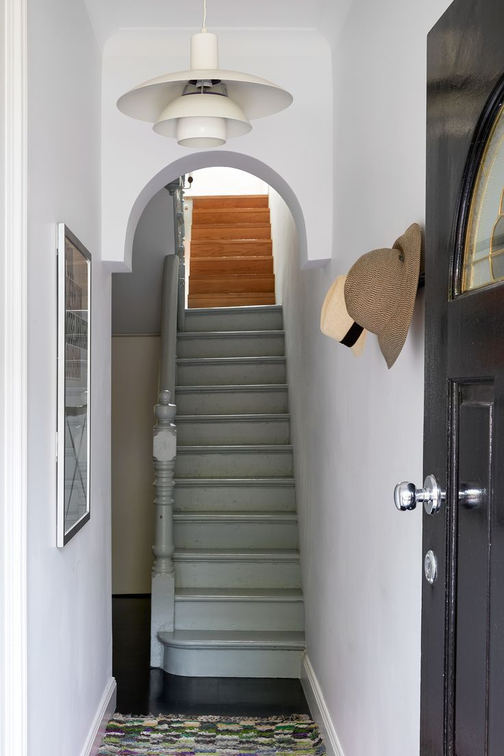 Narrow Terrace Renovation House Staircase Victorian