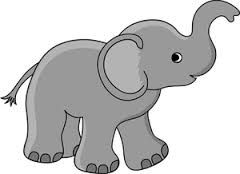 Image result for baby elephant pictures clip art