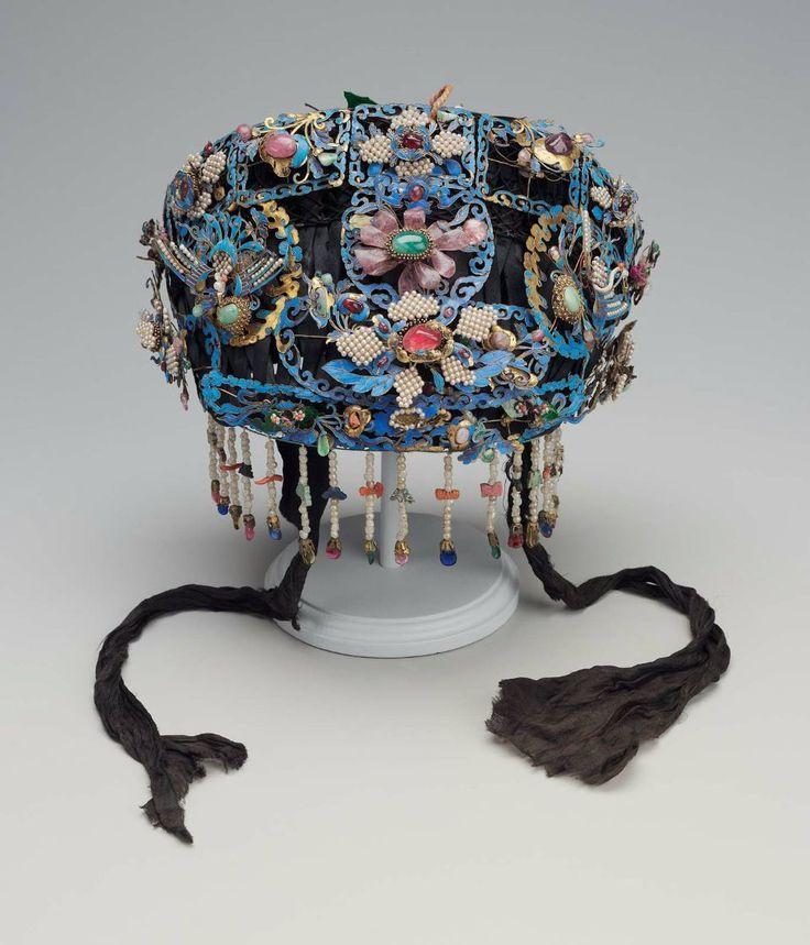 Headdress Qing Dynasty